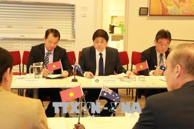 В Канберре прошёл вьетнамо-австралийский диалог по аграрной политике - ảnh 1