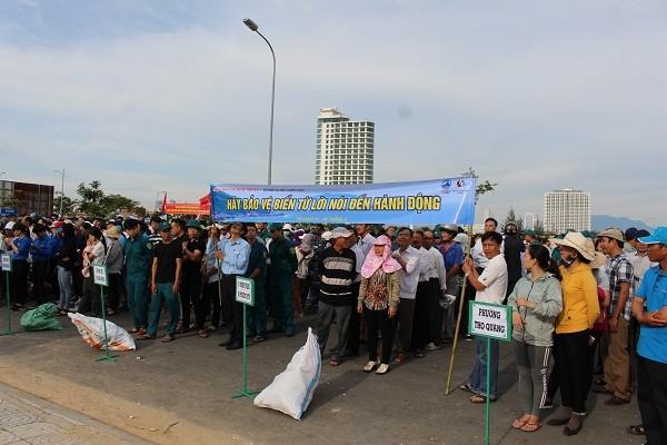 В Дананге проходят различные мероприятия, приуроченные к Неделе моря и островов Вьетнама - ảnh 1