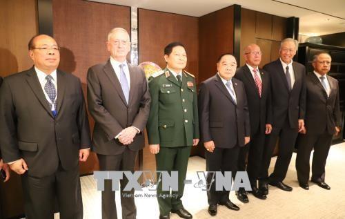 Диалог Шангри-Ла: Министр обороны Вьетнама провёл ряд двусторонних встреч - ảnh 1