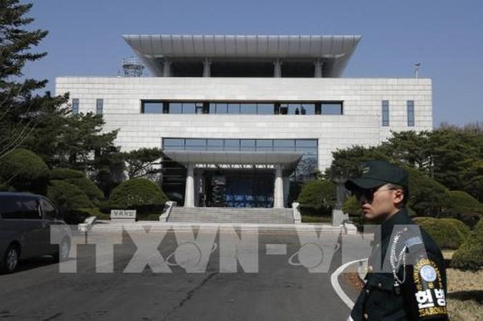 3-й раунд американо-северокорейских переговоров прошёл в деревне Пханмунчжом - ảnh 1