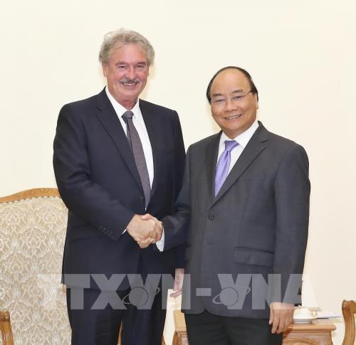Премьер-министр Вьетнама принял министра иностранных дел Люксембурга  - ảnh 1