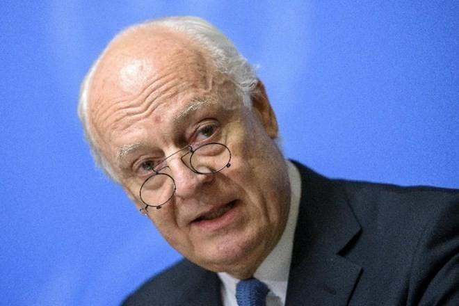 Стаффан де Мистура прилагает усилия для ускорения процесса разработки новой конституции Сирии  - ảnh 1