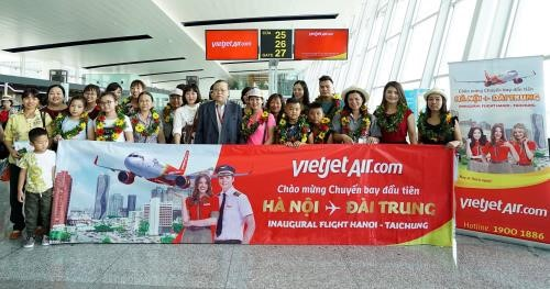 Авиакомпания Vietjet Air открыла два новых международных рейса - ảnh 1
