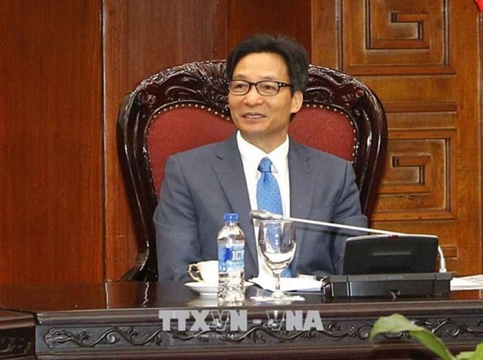 Вице-премьер Вьетнама Ву Дык Дам принял директора ПРООН Ахима Стайнера - ảnh 1