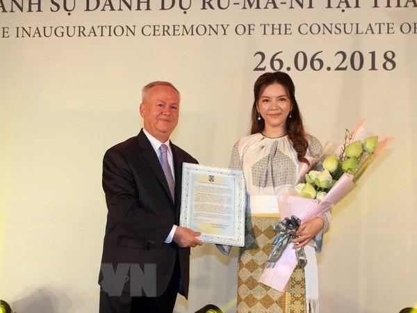Назначен почётный консул Румынии в городе Хошимине - ảnh 1