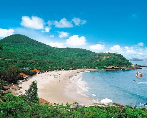 Пляж Шамшон - одно из красивейших мест на севере Вьетнама - ảnh 1