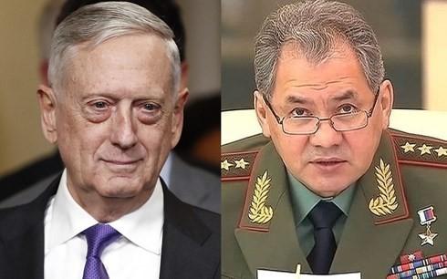 США и РФ оставили открытой возможность проведения переговоров между министрами обороны двух стран - ảnh 1