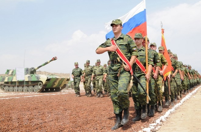 Россия ответит на появление сил НАТО на границе с Грузией - ảnh 1