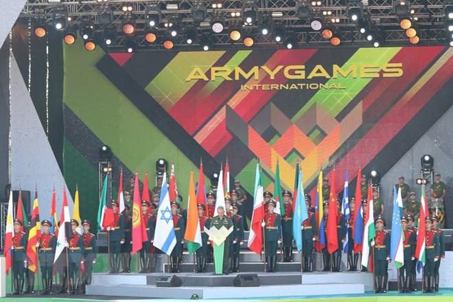 Вьетнам принял участие в армейских международных играх 2018 в России  - ảnh 1