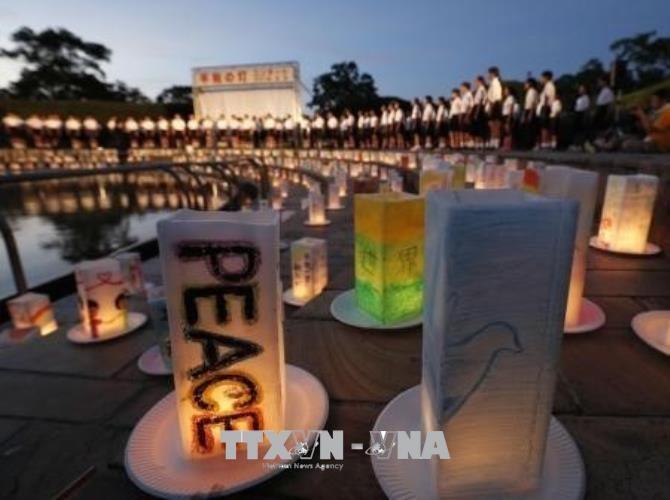 В Японии отметили 73-ю годовщину американской атомной бомбардировки города Нагасаки - ảnh 1