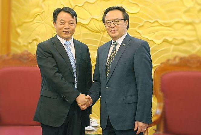 Хоанг Бинь Куан принял делегацию ЦК Коммунистического Союза молодежи Китая - ảnh 1
