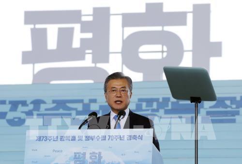 Президент Республики Корея пообещал положить конец войне, разделявшей две Кореи - ảnh 1