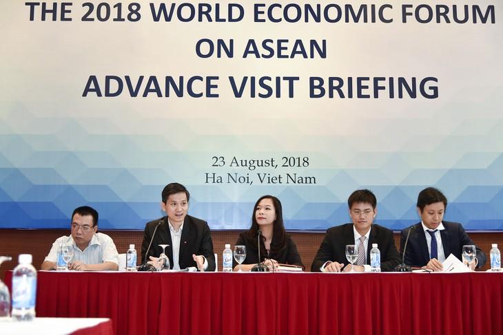 Во Вьетнам прибыла рабочая группа по подготовке к ВЭФ по АСЕАН 2018  - ảnh 1