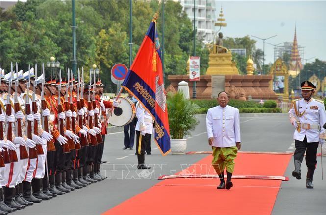 В Камбодже прошла первая сессия нового парламента   - ảnh 1