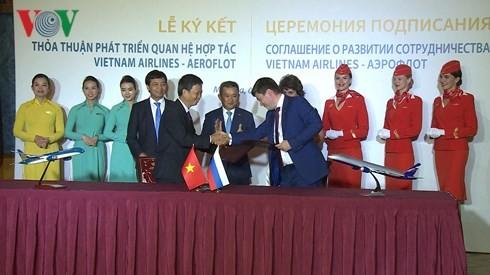 Празднование 25-й годовщины со дня открытия первого авиарейса Вьетнам-РФ - ảnh 1