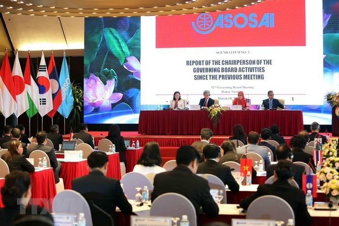 В Ханое открылась 52-я сессия Исполнительного комитета ASOSAI - ảnh 1