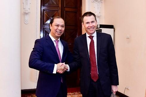 6-е стратегические консультации заместителей глав МИД и Минобороны Вьетнама и Австралии - ảnh 1