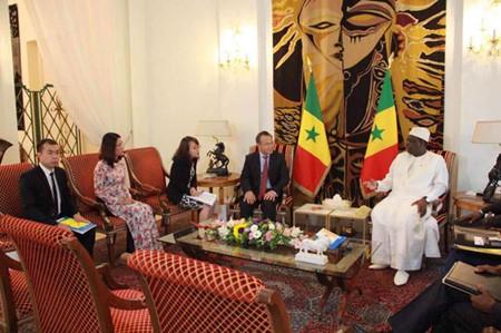 ຫວຽດນາມເພີ່ມທະວີການຮ່ວມມືໃນຫຼາຍຂົງເຂດກັບ Senegal - ảnh 1