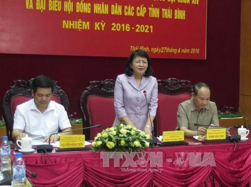 越南各地开展第14届国会代表和2016至2021年任期省级人民议会代表选举准备工作 - ảnh 1
