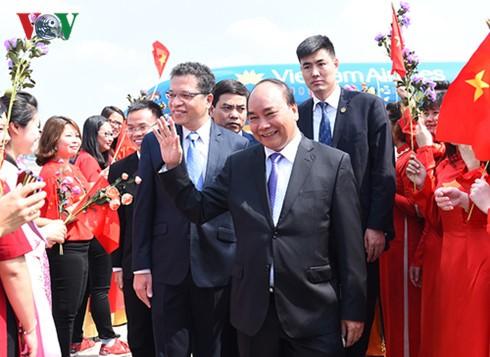 越南政府总理阮春福抵达北京开始对中国进行正式访问 - ảnh 1
