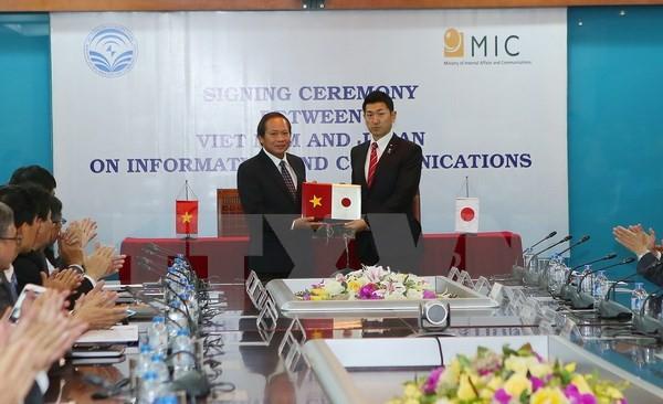 越日信息与通信技术政策对话在越举行 - ảnh 1