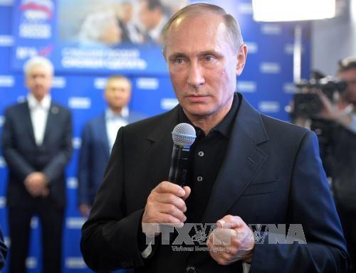 俄国家杜马选举助力克里姆林宫主人继续执掌权力 - ảnh 2