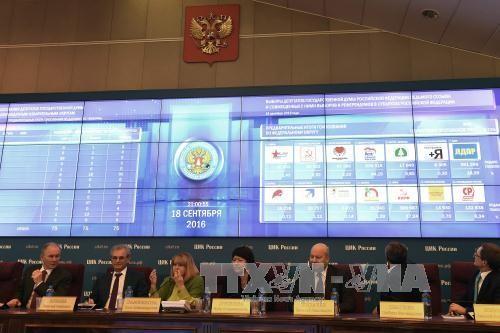 俄国家杜马选举助力克里姆林宫主人继续执掌权力 - ảnh 3