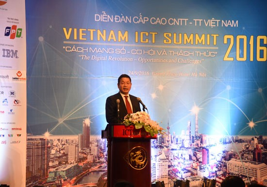 2016年越南信息与通信技术论坛闭幕 - ảnh 1