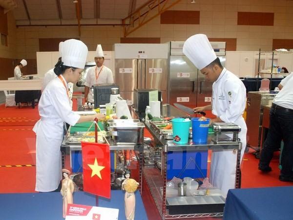越南参加第11届东盟职业技能大赛 - ảnh 1
