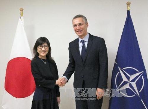 日本防卫大臣稻田朋美访问北约 - ảnh 1