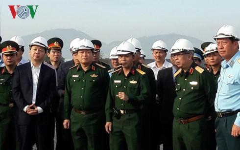 确保岘港机场橙剂污染清理项目按进度开展 - ảnh 1