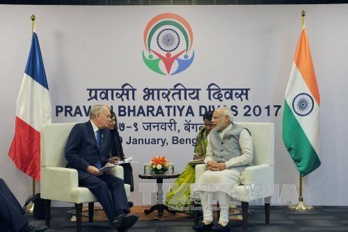 印度和法国加强战略伙伴关系 - ảnh 1