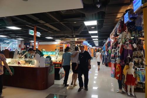 """胡志明市现代化饮食集市与购物中心""""感觉市场""""揭牌 - ảnh 1"""