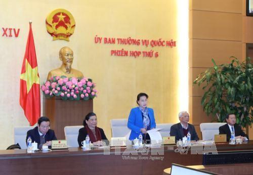 越南国会常务委员会第六次会议闭幕 - ảnh 1