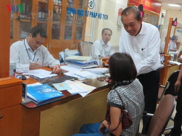 广宁省要将改革工作推广到省内各地 - ảnh 1