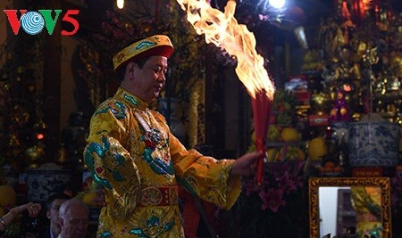 在印度介绍越南三府圣母祭祀信仰 - ảnh 1
