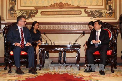 胡志明市与澳大利亚加强贸易、旅游与投资合作 - ảnh 1