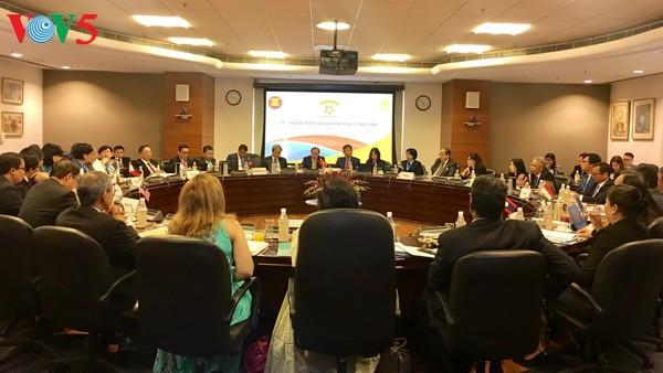 越南出席东盟-印度第19次高官会 - ảnh 1