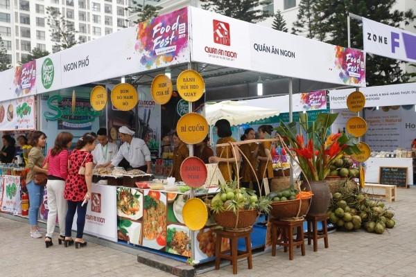 河内首次举办国际娱乐饮食文化节 - ảnh 1
