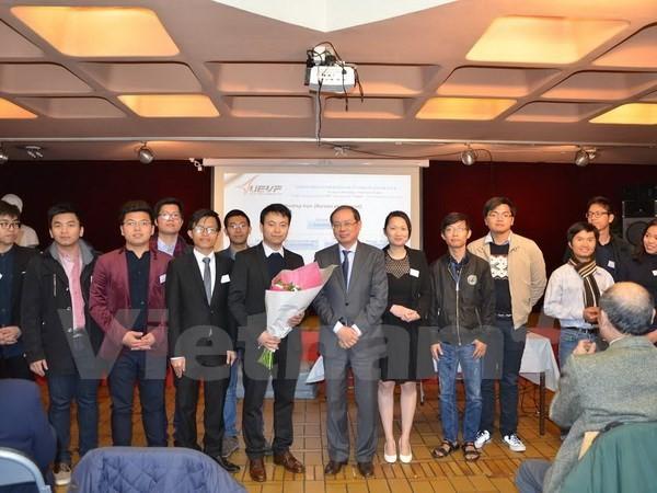 法国越南大学生协会举行第7次代表大会 - ảnh 1