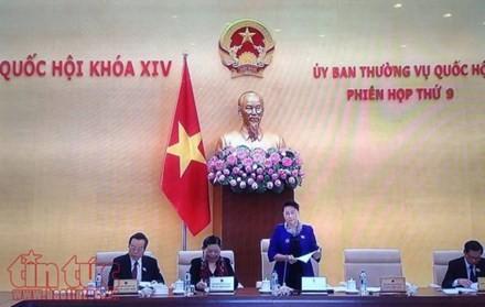 越南第14届国会常委会举行第9次会议 - ảnh 1