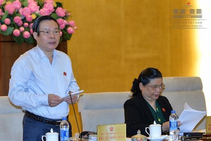 越南国会常委会向《国有资产管理和使用法修正案(草案)》提供意见 - ảnh 1