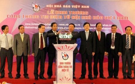 越南新闻工作者协会官网正式开通 - ảnh 1
