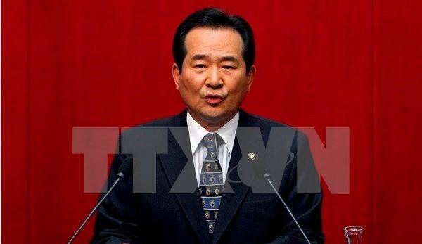 韩国国会议长丁世均对越南进行正式访问 - ảnh 1
