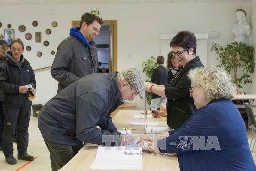 法国总统选举第二轮投票正式开始 - ảnh 1