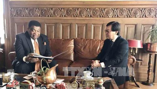 越南常驻联合国日内瓦办事处代表团参与议联亚太地区专题会议筹备工作 - ảnh 1
