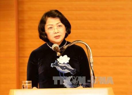 邓氏玉盛出席2017年全球妇女峰会 - ảnh 1