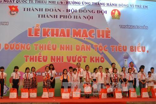越南儿童保护基金会实施多项面向儿童的切实计划和项目 - ảnh 1