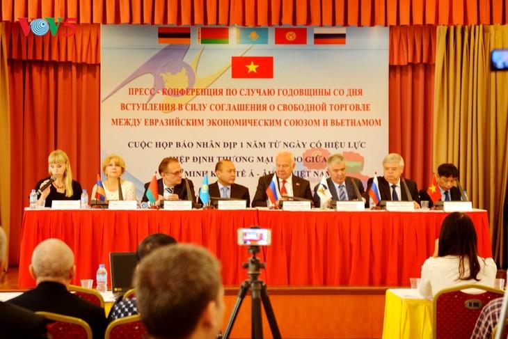 《越南-欧亚经济联盟自贸协定》:促进经济发展的强大动力 - ảnh 1
