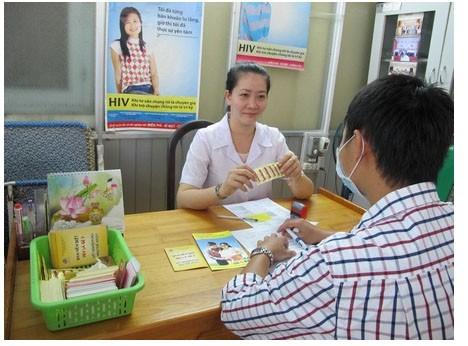 越南积极开展艾滋病防治工作 - ảnh 2